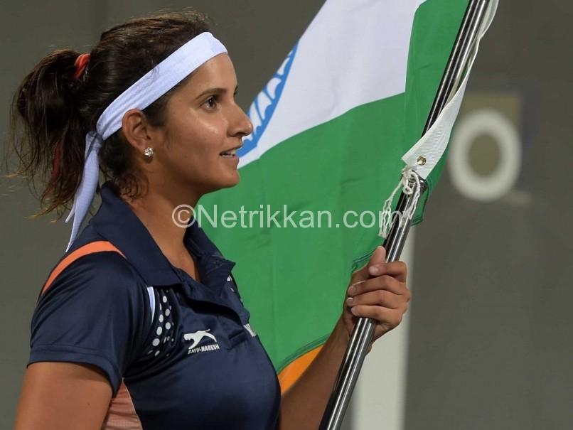 sania-mirza-india-flag