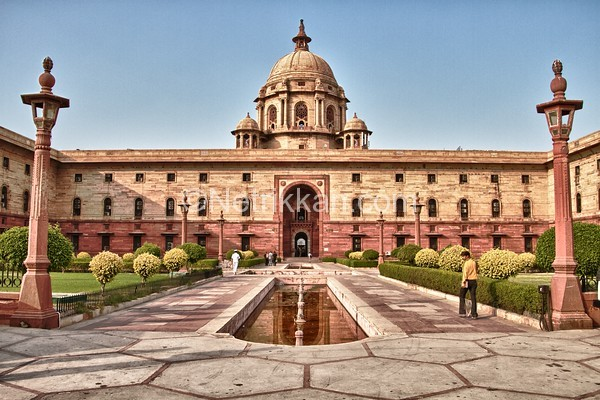 Government Building - Delhi, India-M